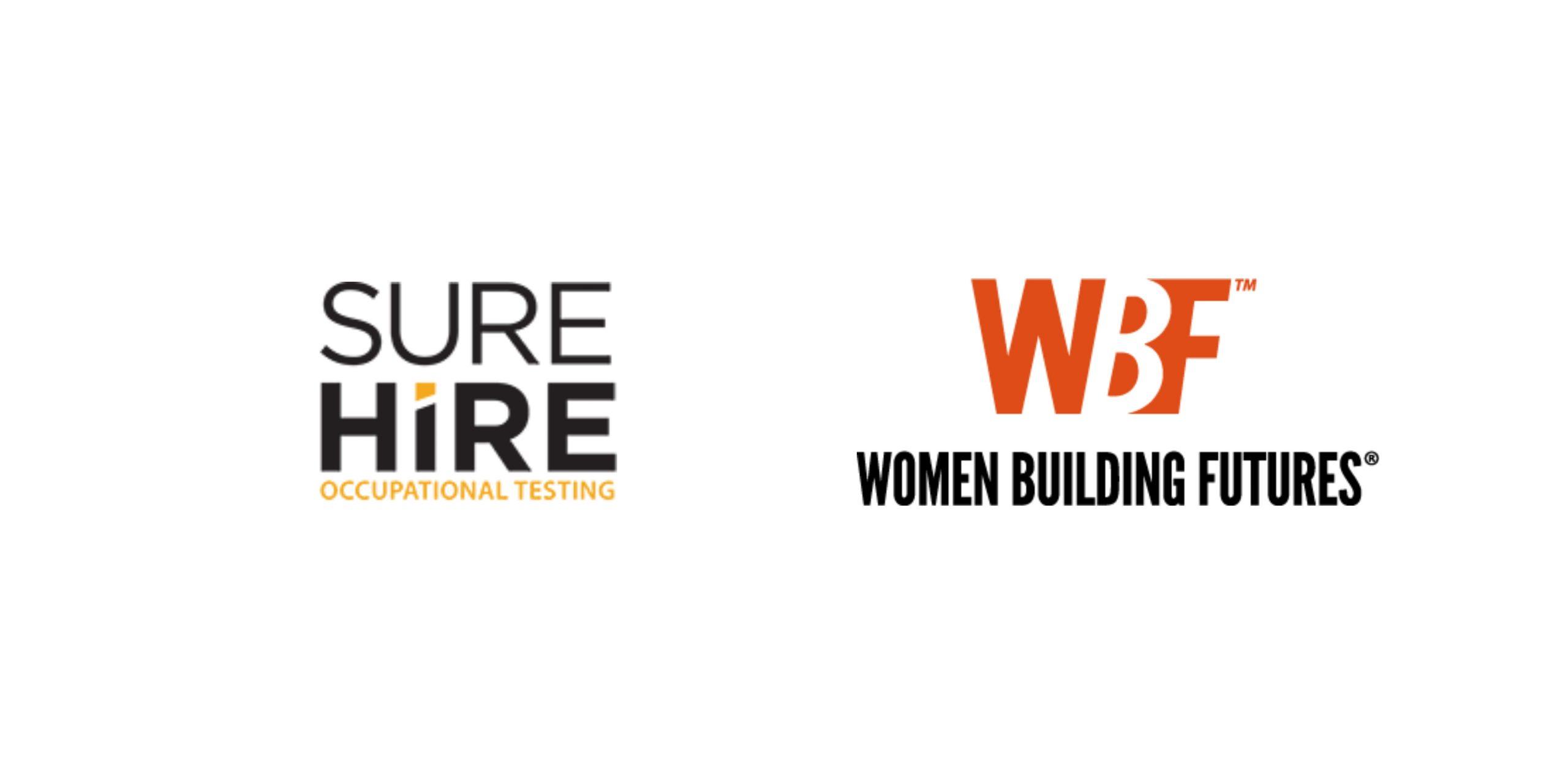 WBF + Sure Hire Logos
